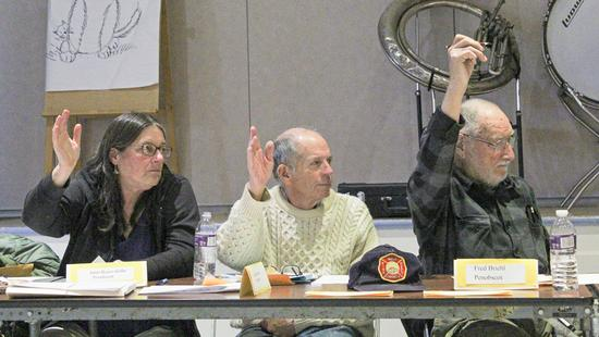 Union 93 approves budget