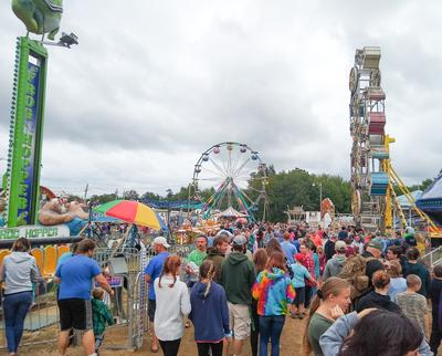 Crowded Midway