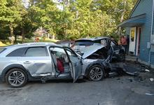 Car crash damages