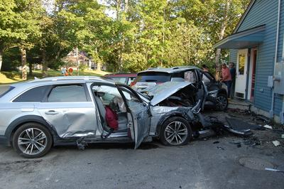 Car crash damages