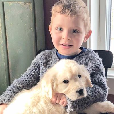 Brooklin boy receives service dog