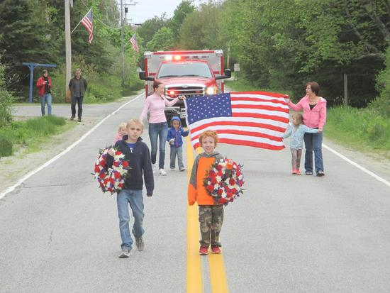 Brooklin memorial parade