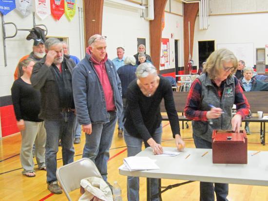 Voters in Brooksville