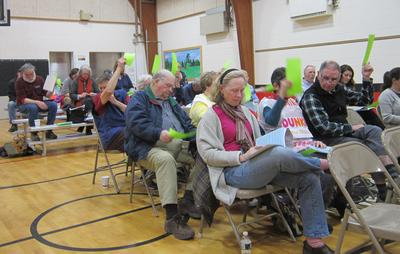 Brooksville Town Meeting