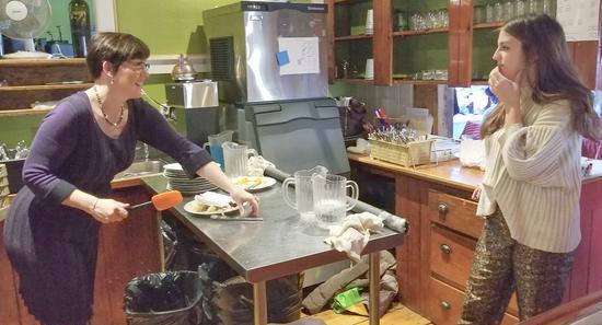 Farmhouse Inn owner Ann Rioux