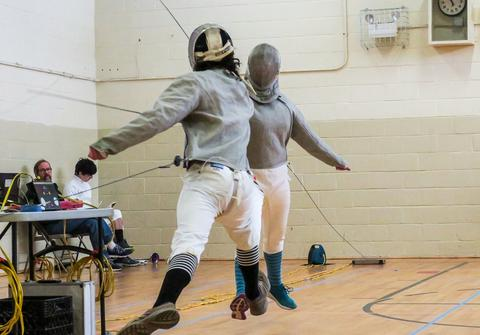 Fencing draws GSA student to Junior Olympics