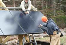 The Good Life Center gets solar panels
