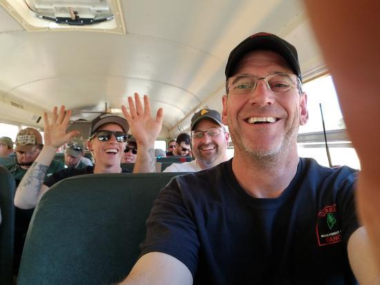 Selfie on the bus