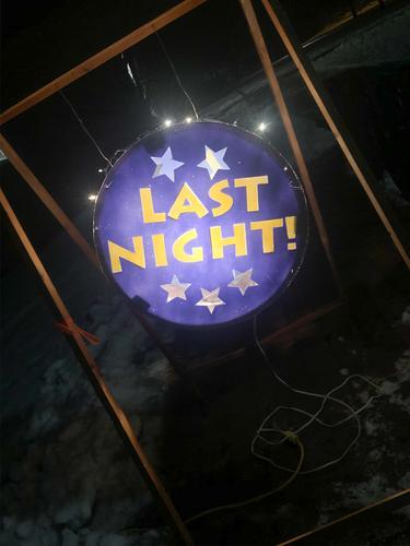 Last Night!