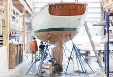 Building boats