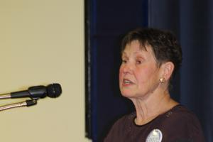 Candidate Betsy Armstrong