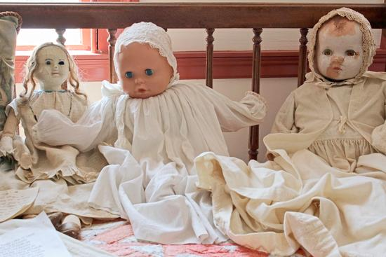 Dolls from years past