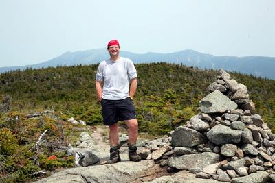 Carlson publishes book on hiking experiences
