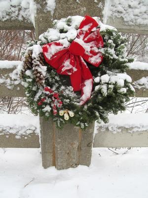 Mill Stream Bridge wreath