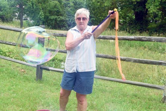 Bubble-making technique