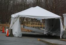 Tent for tests