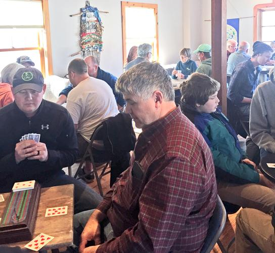 Cribbage tournament draws a large crowd in Surry