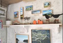 The shelves of Humble View Studio