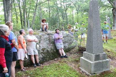Touring the Old Cemetery