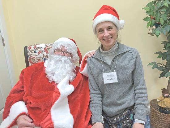 Hi ho, Santa