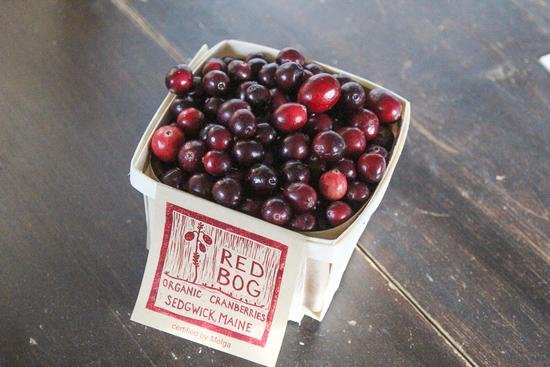 Cranberries by the quart