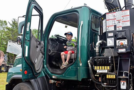 EBS Building Supplies truck