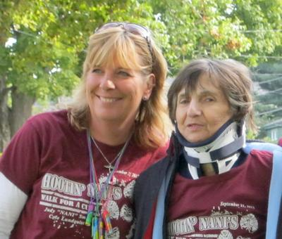 Karen Lanpher and Judy Smith at the Multiple Myeloma walk