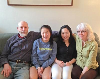 International student finds home-away-from-home with Blue Hill family