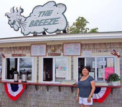The Breeze dockside take out