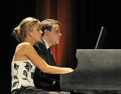 Piano duo Fortin & Latour to perform in Blue Hill, Maine