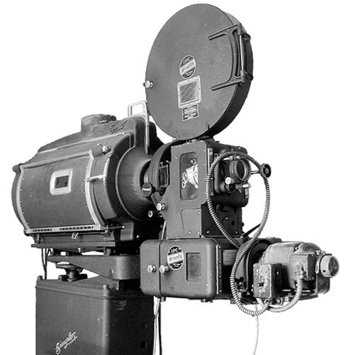 1941 Super Simplex 35mm film projector