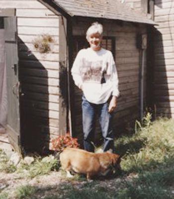 Deer Isle author Brenda Gilchrist