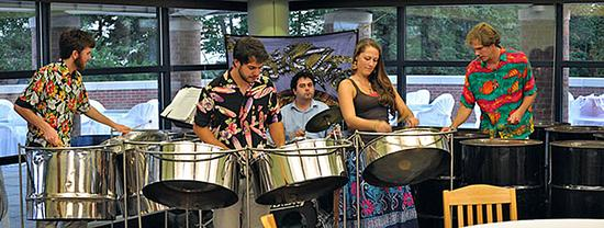 Atlantic Clarion steel drum band