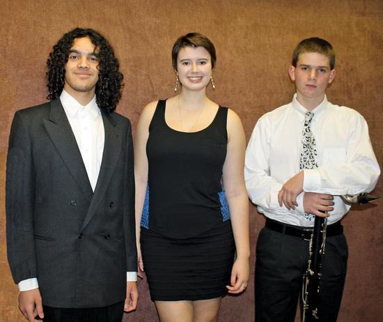 Ezra Woodye-Millay, Lorna Stephens and Baxter Forrest
