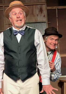 Peter Sly and Jim Fisher of New Surry Theatre