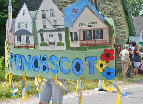 Penobscot Day parade in 2012