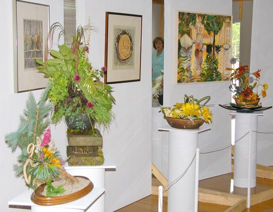 Art in Bloom at the Bay School in Blue Hill