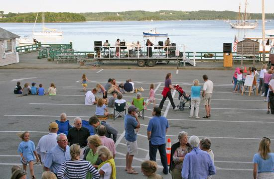 A concert from last summer's Waterfront Wednesday series.