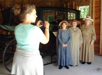 Touring Through Time with local historical societies