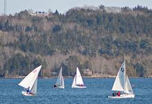 Young Blue Hill sailors hit the water
