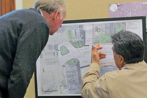 Castine selectmen review street plans