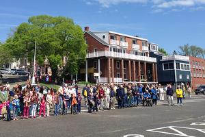 Residents of Castine, Maine mark Memorial Day