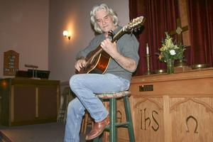 Skip Bean takes to the stage in Penobscot