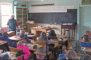 Old school house in Penobscot gets new students