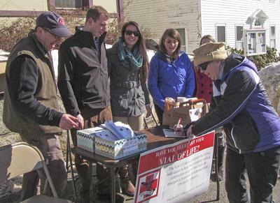 """""""Vial of Life"""" comes to Castine, Maine"""