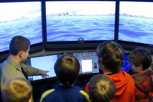 The Navigation Simulator at the Maine Maritime Academy