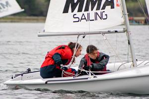 Eagles sailors race in Smith Cove