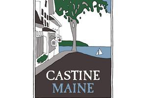 The logo for Castine