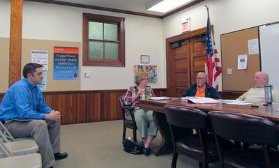 Castine, Maine Community and Economic Development Committee meet on May 27