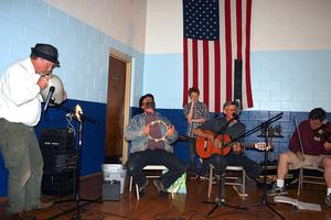 The Loose Cannon Jug Band performs